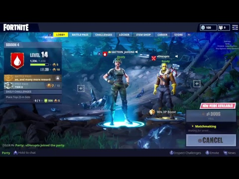 HALL OF FAME FORTNITE DUO!!!