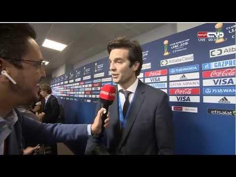 FIFA Club World Cup Final | TV Exclusive Santiago Solari