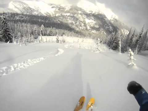 Heli-Skiing in Canada - Purcell Mountains, BC