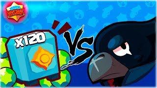 ¡¡ 1200 GEMAS VS CROW | A POR LA ULTIMA LEGENDARIA DE BRAWL STARS !! - [WithZack]