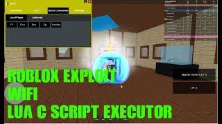 Roblox Hack:Wifi(Patched)LUA C Script Executor/Exploit