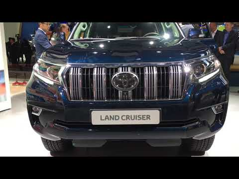 2018 Toyota Land Cruiser facelift walkaround at Frankfurt Motor Show 2017