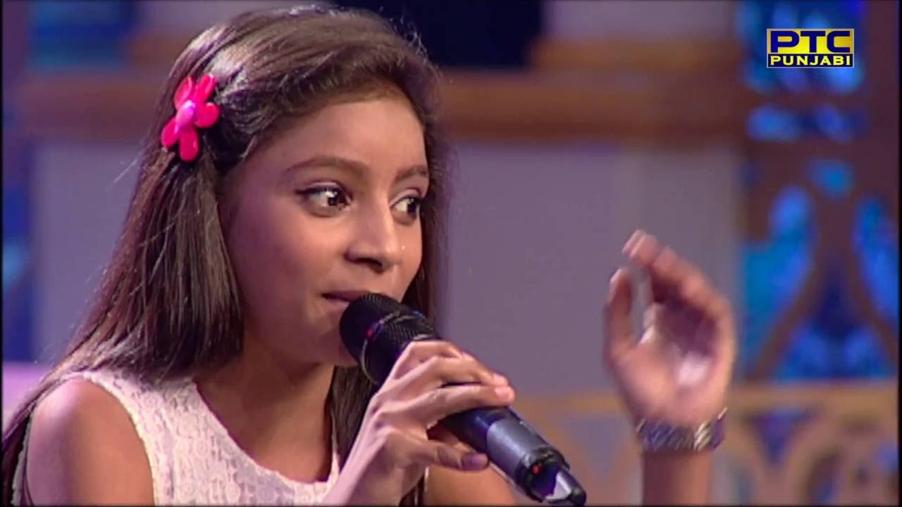 SIMRAN RAJ winner of SEASON 2 sings in Studio Round 01   VOP Chhota Champ 3    PTC Punjabi