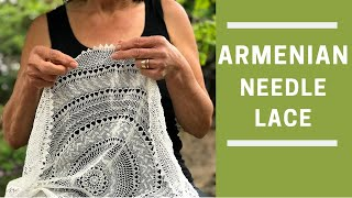 How to do Needle Lace (Part 1/8)