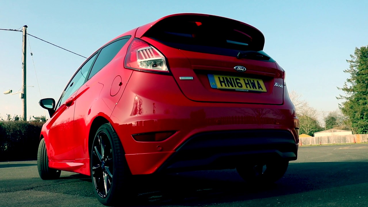 ford fiesta zetec s red edition youtube. Black Bedroom Furniture Sets. Home Design Ideas