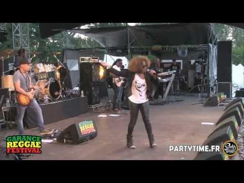 Tanya Stephens at Garance Reggae Festival 2014