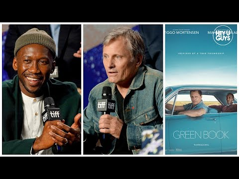 Viggo Mortensen & Mahershala Ali talk Green Book  Press Conference