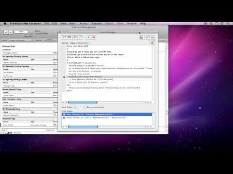 FileMaker Script Debugger Part II