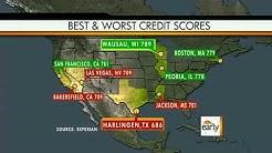 Credit scores: The best and worst in the U.S.