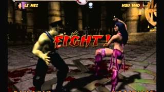 Mortal Kombat Deadly Alliance-Li Mei Arcade Ladder