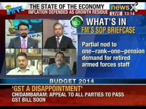 Budget 2014: P Chidambaram presented the interim budget for 2014-15 in the Lok Sabha