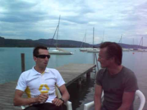 Winner Interview Marino Vanhoenacker Ironman Austria 2010