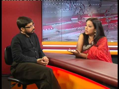 Arun Chowdhury With Suborna Mustafa Munni Saha In Atn News