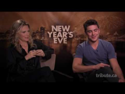 Michelle Pfeiffer & Zac Efron - New Year's Eve Interview with Tribute