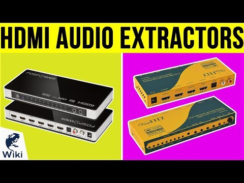 6 Best HDMI Audio Extractors 2019