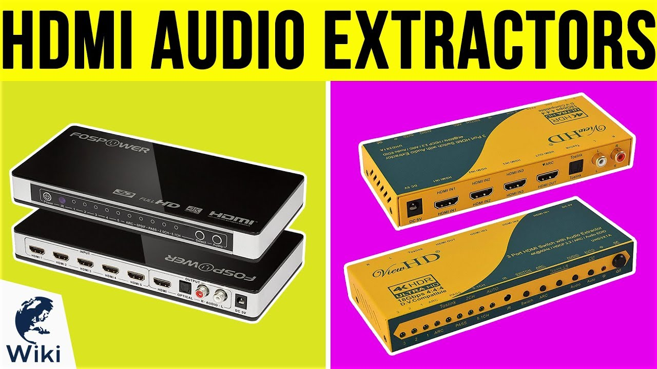 Top 6 HDMI Audio Extractors of 2019 | Video Review