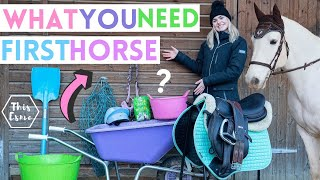 What You Need For Your First Horse! AD | This Esme