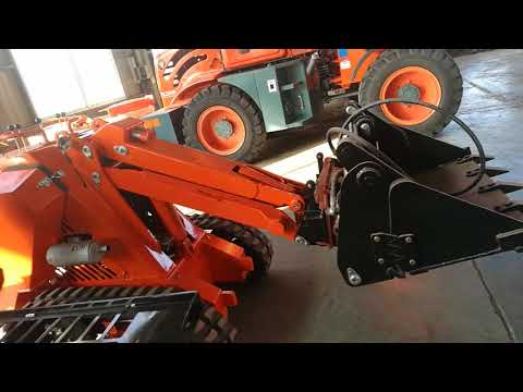 how to connec 4 in 1 bucket for mini skid steer loader
