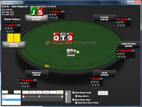 Pokerstars Online Pro, Dusty Shmidtt, talks about sticking to your reads.