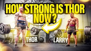 HOW STRONG IS THOR NOW AFTER HIS RECORD BREAKING 501 KG DEADLIFT?