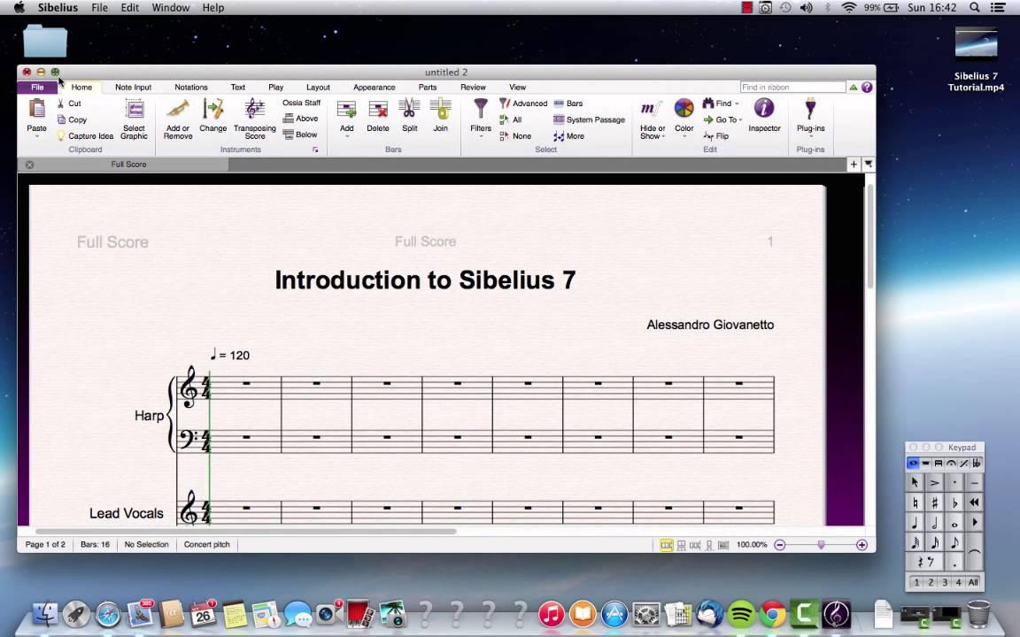 Sibelius 7 explained® groove3. Com video tutorial.