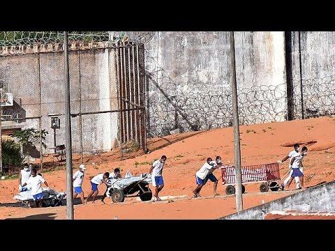Death toll rises in latest prison violence in Brazil