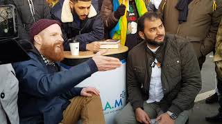 P2 Muslims And Jews Must Unite Against Extremism -Adnan and Joesph Hyde Park Speakers Corner