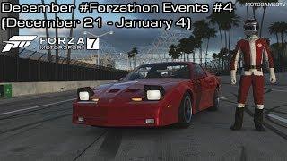 Forza Motorsport 7 - December #Forzathon Events #4 (December 21 - January 4)