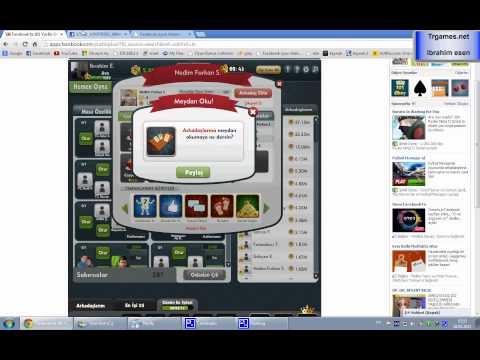 facebook okey oyunlarında profil bulma yöntemi Trgames.net