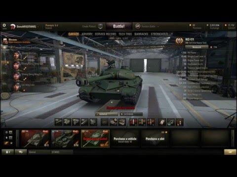 tier 8 , WZ-111 premium heavy tank review