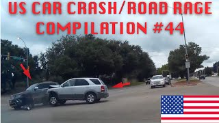 🇺🇸 [US ONLY] US CAR CRASH/ROAD RAGE COMPILATION #44 (Back To School Edition)