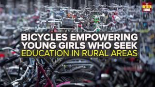 Bicycles Empowering Girls in Bihar