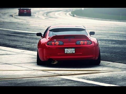 Toyota Supra - Sound and Acceleration