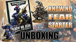 1/2 Price Starter Set for 8th 40k? Know No Fear REVIEW