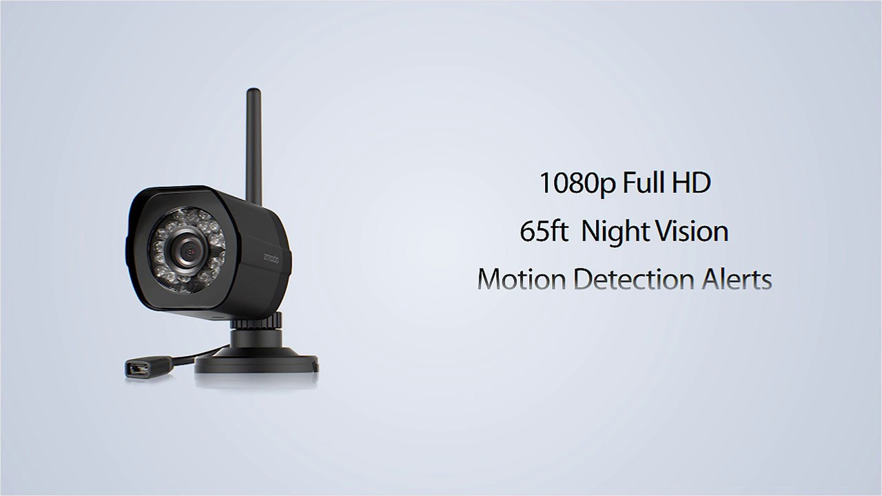 Zmodo 1080p Outdoor WiFi Camera