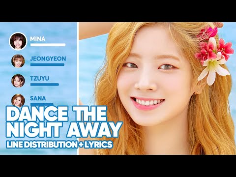 TWICE - Dance The Night Away (Line Distribution + Lyrics Color Coded) PATREON REQUESTED