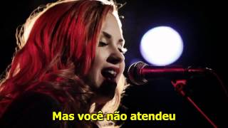 CANAL R.G - Demi Lovato - Give Your Heart A Break (Acoustic Live) (Legendado)