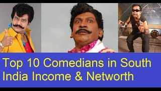 Top 10 2016 Comedians in South India Income & Networth (Tamil & Telugu)