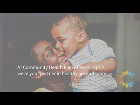 With Community Health Plan of Washington you are not alone.