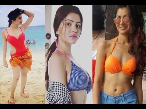 Tv Actresses Sizzling Hot Bikini Bodies Nia Rubina Sriti Youtube