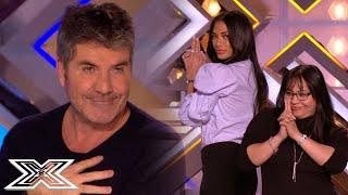 SIMON COWELL Feels Like JAMES BOND With His BOND GIRLS | X Factor Global