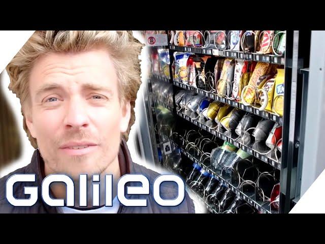 Überfallen für einen Schokoriegel?! - Wie hart ist der Job als Snack-Automaten-Befüller? | Galileo