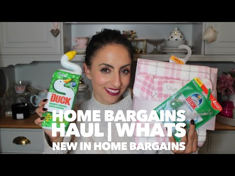 Home Bargains Haul | Whats new in Home Bargains