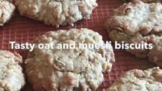 Easy Muesli & Oat Biscuits