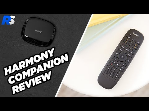 Logitech Harmony Companion Review - Smart Home And Universal Remote