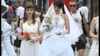 В Челябинске прошел Парад невест