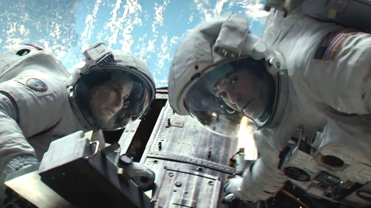 Gravity Movie Final Trailer Movie Trailer Hd Youtube