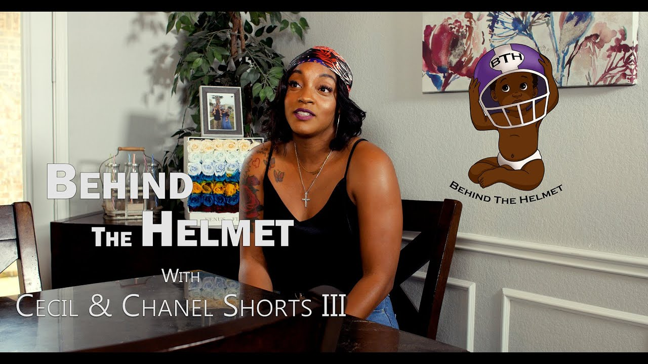 Chanel Shorts and Her Transition from Behind the Helmet