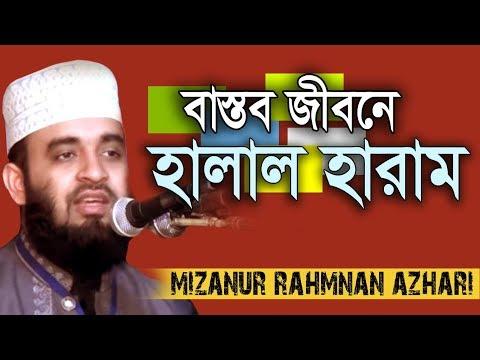 হালাল হারাম নিয়ে ভাবছেন !!! Mizanur Rahman azhari । Rose Tv24 Presents