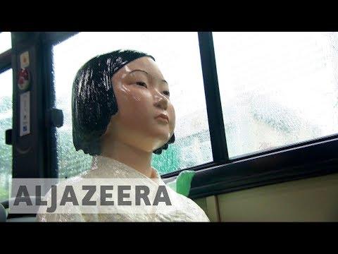 South Korea Honours 'comfort Women' On Seoul Buses